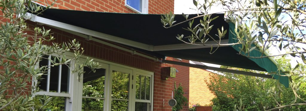 Patio Awning Surrey Open Green